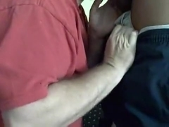 White slut services two black men