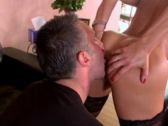 Keiran Lee licks and fucks sexy babe Lisa Ann