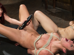 Fabulous bdsm, anal sex video with best pornstars Dani Daniels, Anna Morna and Maitresse Madeline Marlowe from Whippedass