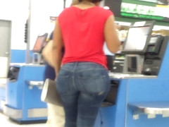 Redbone Round Basketball Booty Tight Jeans.