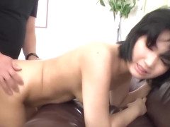 Saki Umita butt fucked during casting by horny man - More at Japanesemamas.