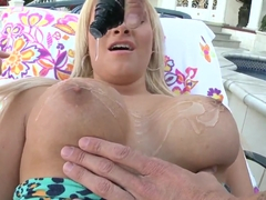Jessica Nyx turns every massage scene into a fuck theater