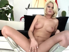 Amazing pornstar Antynia Rouge in fabulous group sex, blonde adult movie