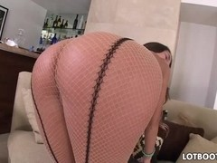 August Ames has round butt and juicy boobs gets fucked