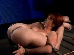 Redhead tortured, screwed and facialized