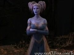 Elf Enchantress Fucks and Gives Magical Blowjob