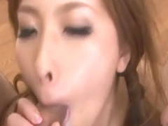 Ami Kurosawa tries two cocks in serious group sess - More at Slurpjp.com