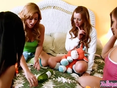 Twistys Main Channel - Brooklyn Lee Lexi Belle - The Sleepover-
