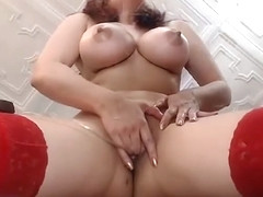 Squirt  big clit labia orgasm C.Horny c part.1