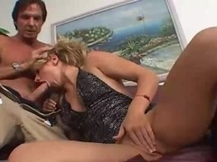 Angela Stone facefucked and getting a facial