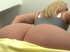 Perfect MILF white ass