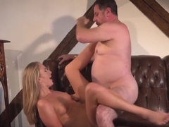 Gorgeous Ivana Sugar hardcore cunt fucked by an old businessman