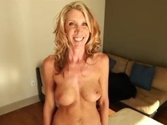 Slender Mature Amateur MILF Makes Porn Video