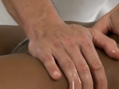 Cute and horny wet girls have intense orgasms from big cock