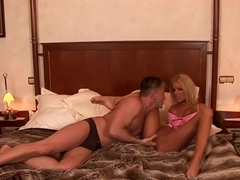 Assfuck on the hotel bed