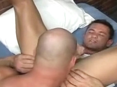 Incredible male in fabulous big dick, bears homosexual sex video