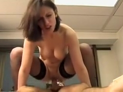 Lola Vinci Double Teamed By Coworkers