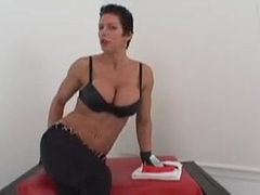 Fitness femdomme ass fuck instruction 1