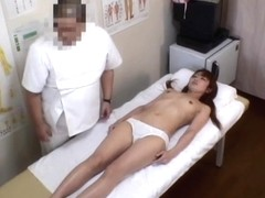 Massage porn voyeur scenes with Asian tits and pussy