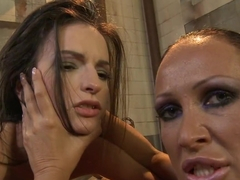 Anna Marie La Sante lick the fingers of a horny slut