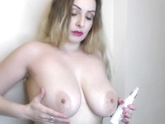 Amazing big natural tits Lycia downblouse compilation