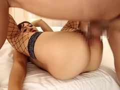 Best Japanese slut in Exotic MILF, Fishnet JAV scene