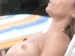 Mature Breasts Tanning