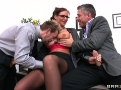 Big Tits at School: Horny Dean