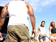 Bella Moretti & Skin Diamond & Mr Marcus in Anal Black Roadtrip - WCPClub