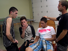Smoke Sucker Wesley's Gangbang! - Smoke Sucker Wesley's Gangbang! - Boys-Smoking