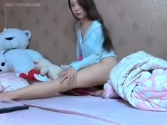 Peep! Live chat Masturbation! - Korean Hen fair-skinned with ultra-cute skinny girl hawt dance Par.