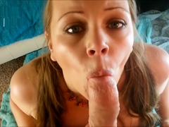 Hailey Please - Pigtails and a Big Dick - POV Blowjob (teaser)