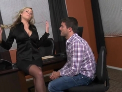 Seductive Darcy Tyler gets licked by Ramon Nomar