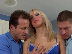 Best pornstar Karlie Simon in hottest threesome, anal xxx movie