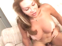 Best pornstar Lauren Dikarlo in crazy shemale creampie, shemale blonde sex movie