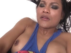 Kyrha in Supergirl Creamed Hole - LadyboyGold