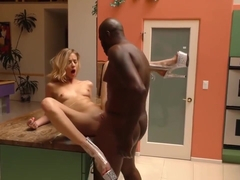 Haley Reed Is Getting Her Pink Cunt Pounded By Bbc