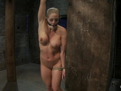 Very Intense Sm Scene With Hot Blond.Pushed To The Edge Of Sanity And Back.Brutal Orgasms - HogTied