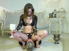 Wine & Smothering by a Lady