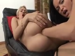 This Hot Fairhair Loves Brutal Anal Fist