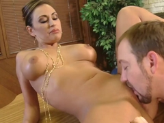 Smoking hot Claudia Valentine gets her sweet twat banged by Will Powers