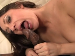 Crazy pornstar Brooklyn Jade in fabulous interracial, brunette sex video