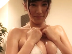 YURI - Oiled Up White Bikini Wet Fetish (Non-Nude)