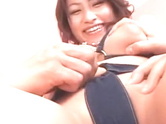 Fabulous Japanese model in Crazy Big Tits, Doggy Style JAV scene