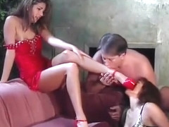 Hank Armstrong, Alexandra Silk, Coral Sands hot feet 3some