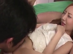 Cute Asian Doll Erena Aihara riddes on a huge cock