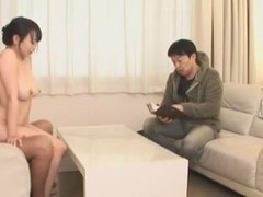 Threesome porn with Akane Yoshinaga being fucked