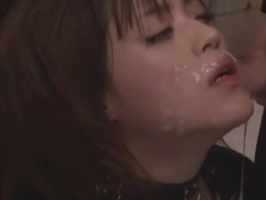 Incredible Japanese slut Azusa Itagaki in Amazing Facial, Latex JAV video