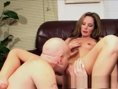 Horny MILF is picked up for some head, fucking and a messy facial