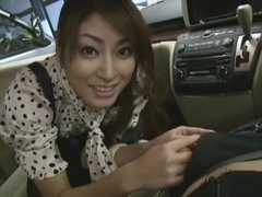 Incredible Japanese whore Karen Kisaragi in Fabulous POV, Couple JAV clip